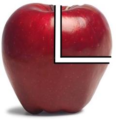 трубка из яблока
